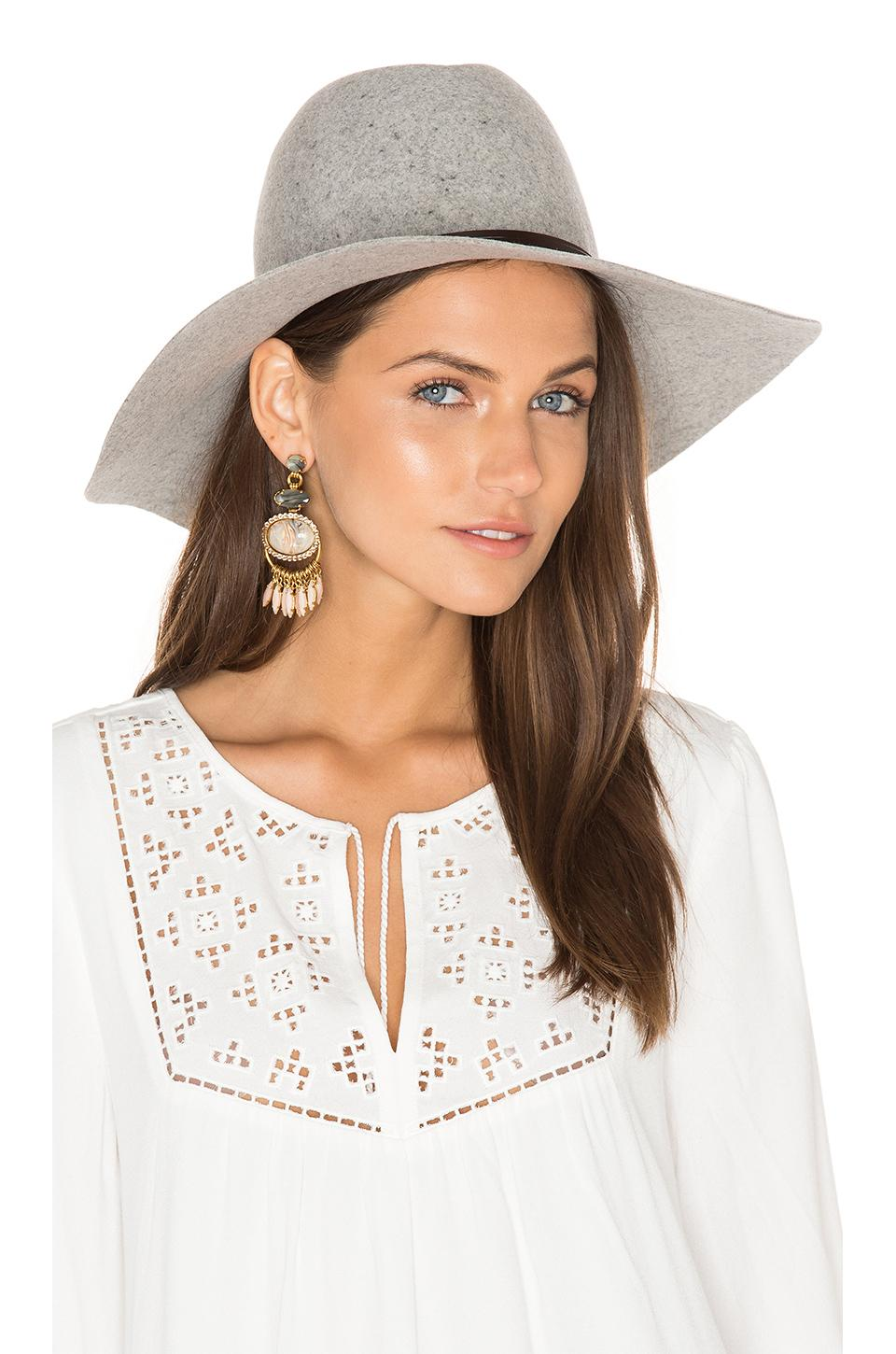 Lyst Hat Attack Taylor Large Brim Hat