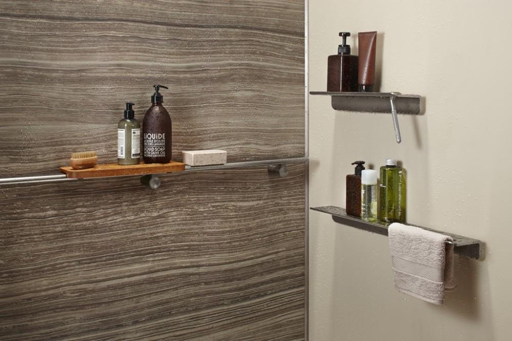 Teak Textured Bathroom Kohler Ideas