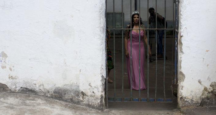 مسابقة ملكة جمال السجون تالاÙيرا بريوس ÙÙŠ البرازيل، 4 ديسمبر/ كانون الأول 2018 - ملكة الجمال السجون السابقة (لعام 2017)
