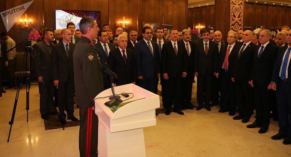 ملحق روسيا العسكري في دمشق نكافح مع الجيش السوري وحلفائه ضد الشر