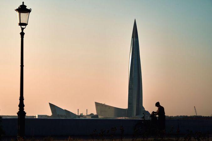 ناطحة سحاب لاختا سنتر في سان بطرسبرغ، روسيا