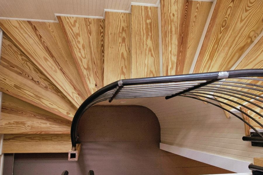 Tips For Building A Double Winder Stair Jlc Online | Double Winder Staircase Design | Handrail | Attic | Bespoke Staircase | Medium Oak | Small Space
