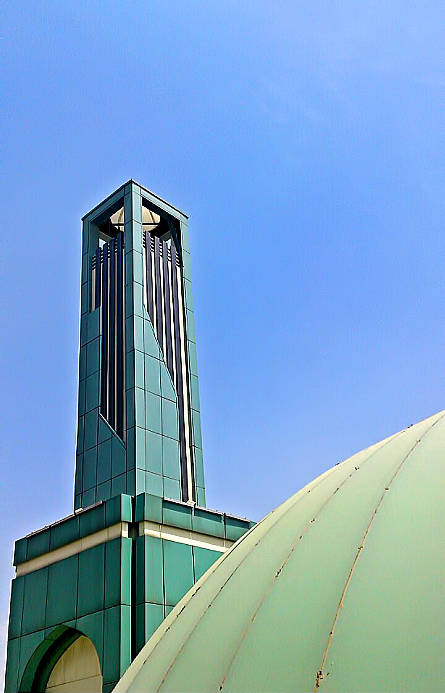 Incorporation Of A Minaret Into A Mosque Architect Magazine