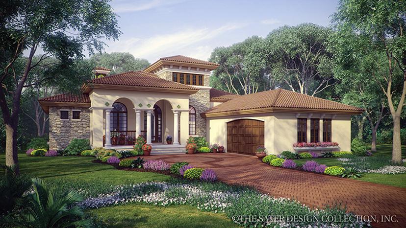 Fourplans Modern Mediterranean Homes From Dan Sater