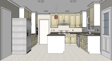 Cost vs  Value Project  Major Kitchen Remodel   Remodeling Midrange Major Kitchen Remodel  After