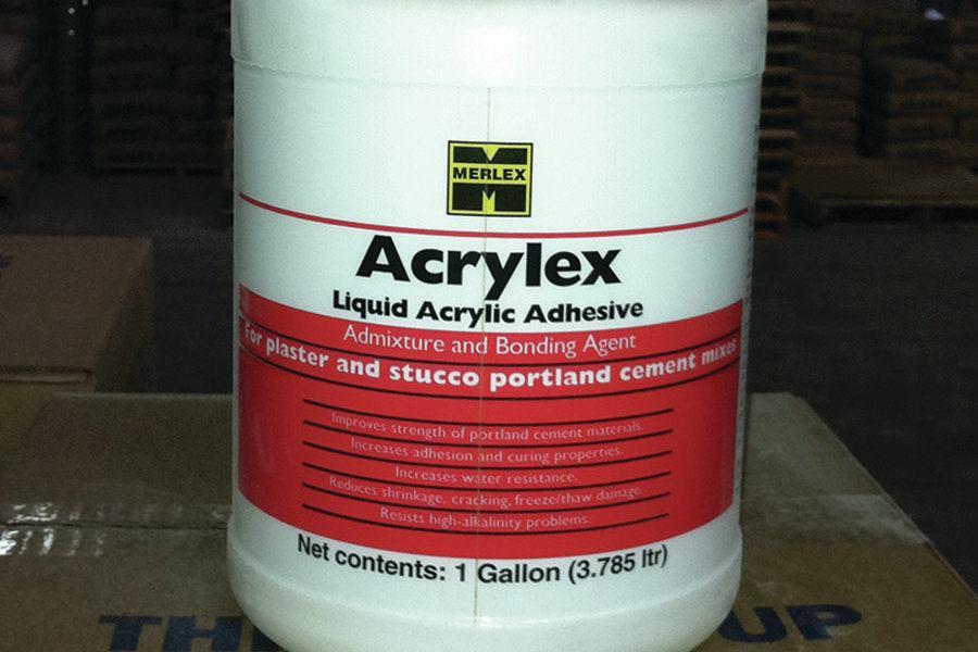Liquid Acrylic Adhesive Concrete Construction Magazine