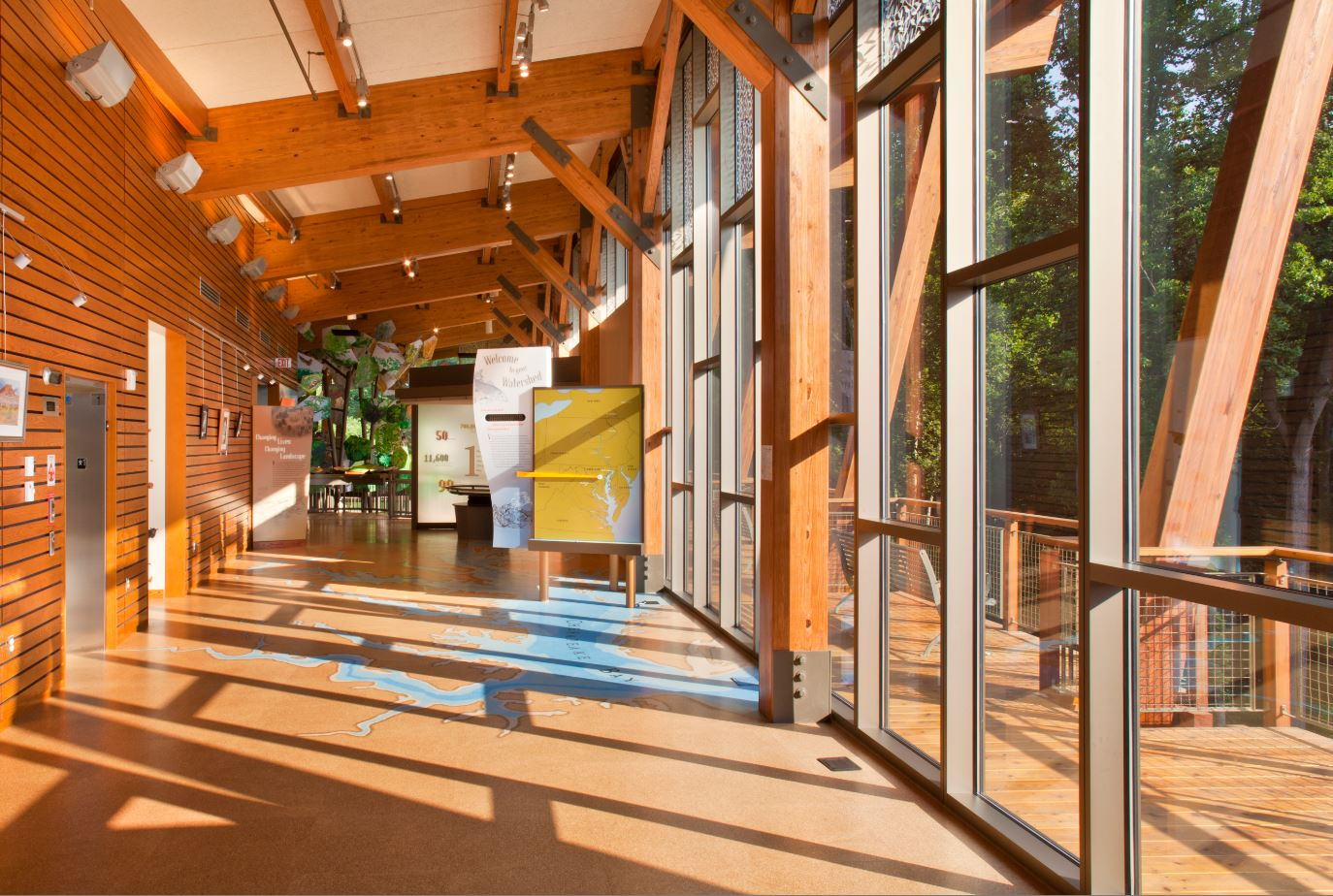 James And Anne Robinson Nature Center Architect Magazine