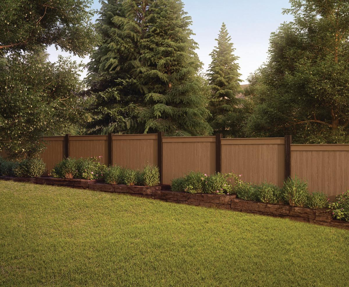 Termite-Resistant Composite Fencing From Lifetime Lumber