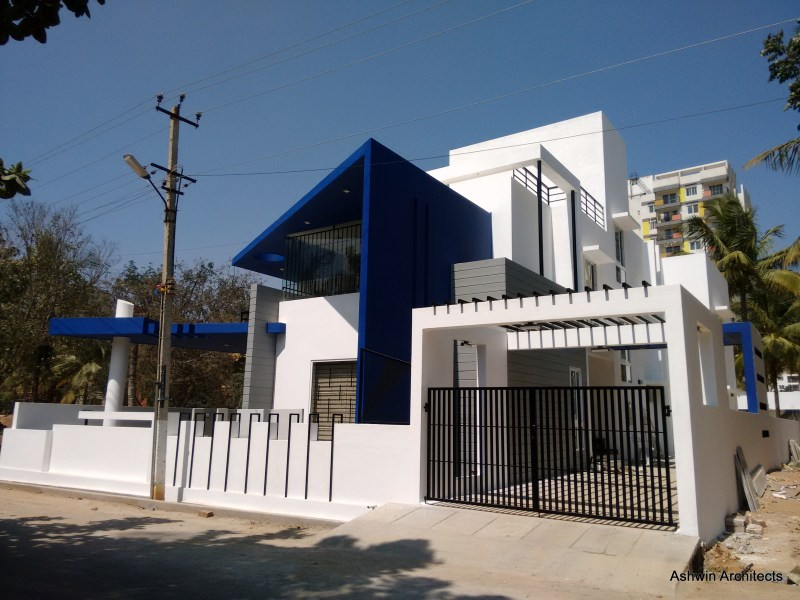 Modern Villa Designs Bangalore   Architect Magazine   Ashwin     Modern Villa Designs Bangalore   Architect Magazine   Ashwin Architects   Bangalore  Karnataka  INDIA  Other  Single Family  New Construction   Architectural