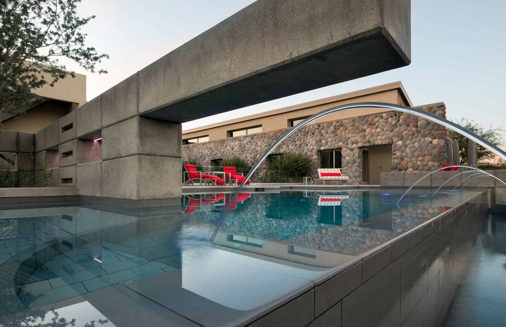 large format tile in pools and spas