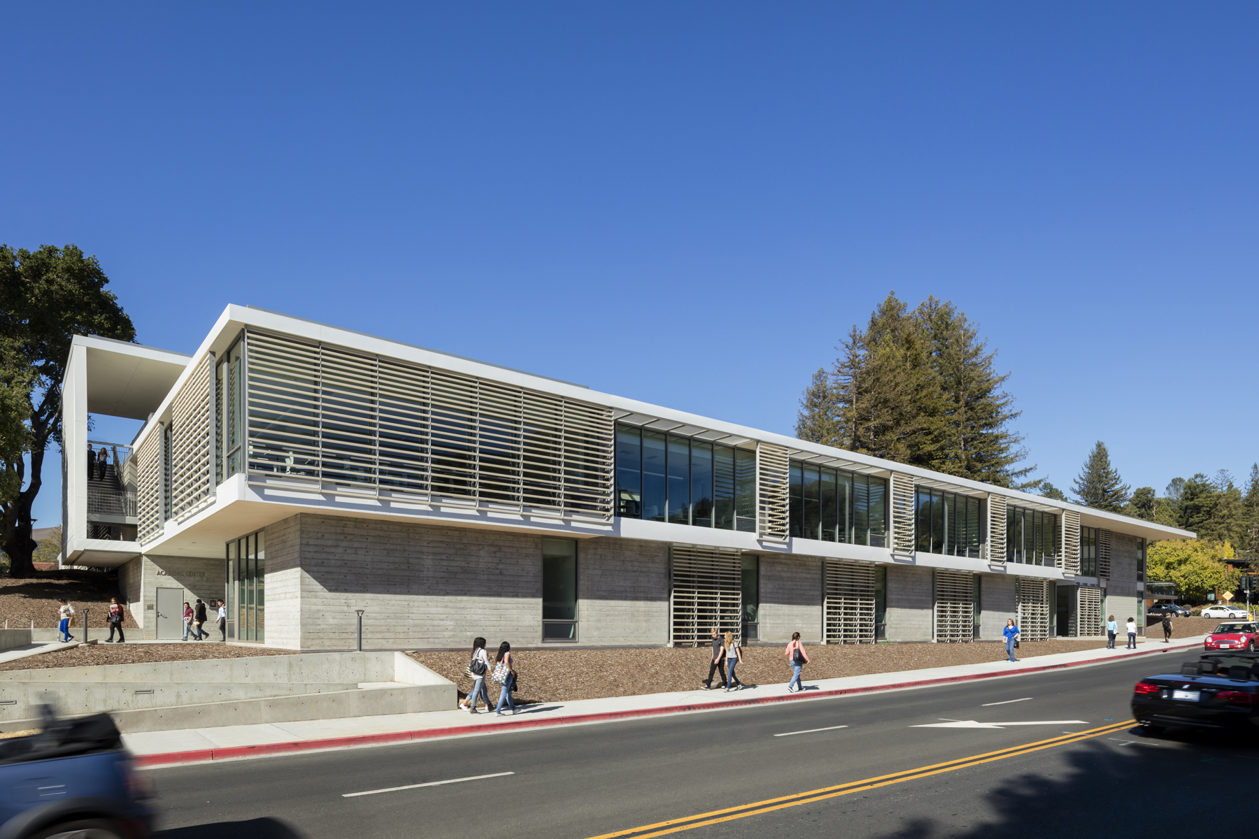 College Of Marin Academic Center Architect Magazine