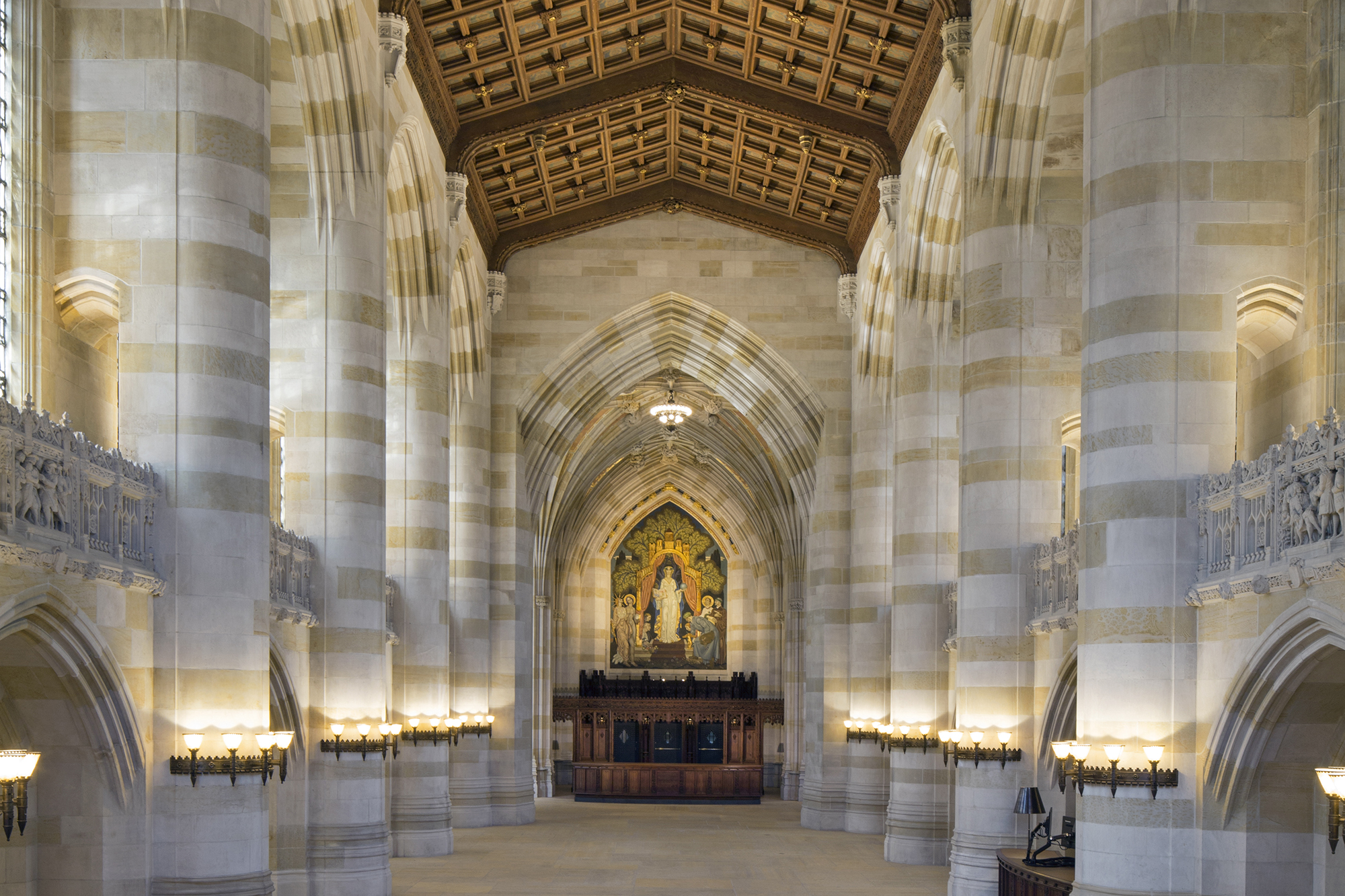 Illuminating A Cathedral Of Learning Architectural Lighting Magazine Cultural Projects