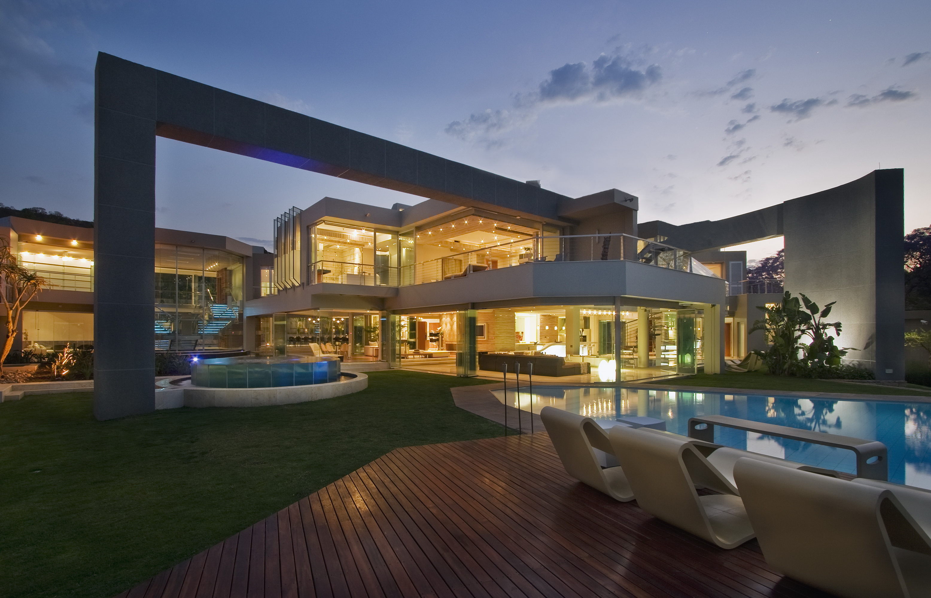Glass House Architect Magazine Nico Van Der Meulen Architects Johannesbrg South Africa