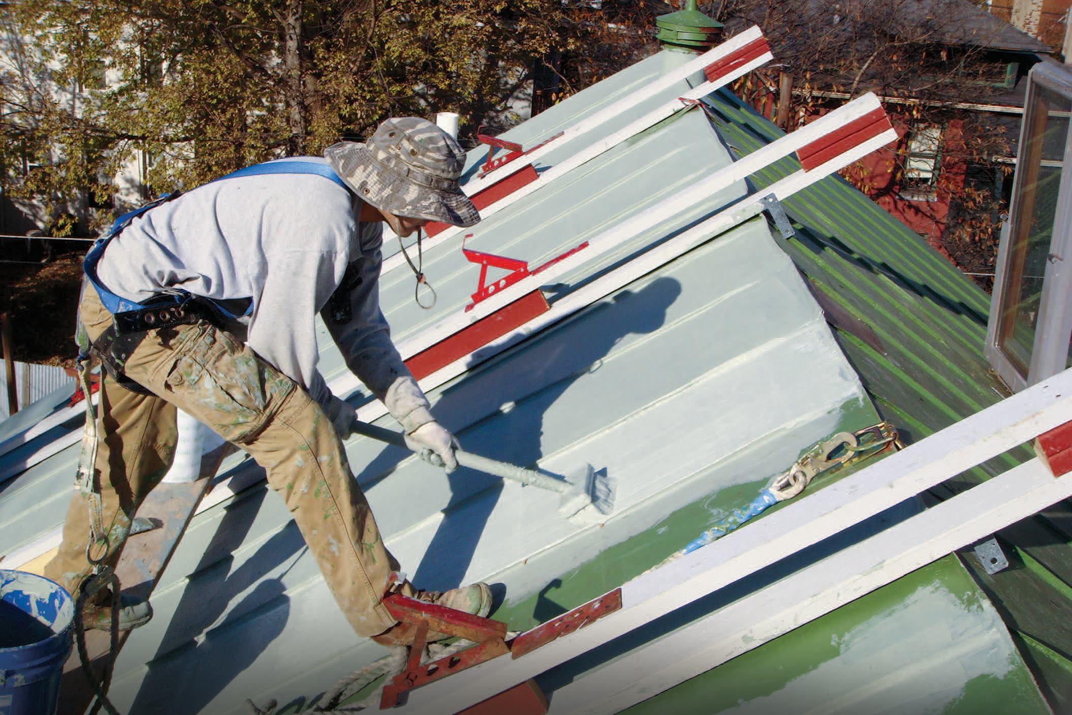 Restoring A Standing Seam Roof