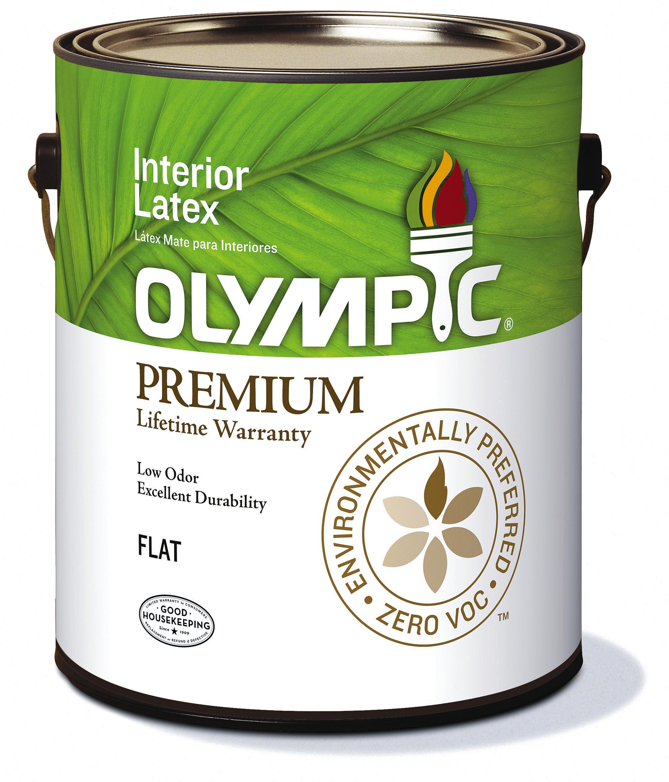 Olympic Paint Zero VOCLow Odor Premium Interior Paint