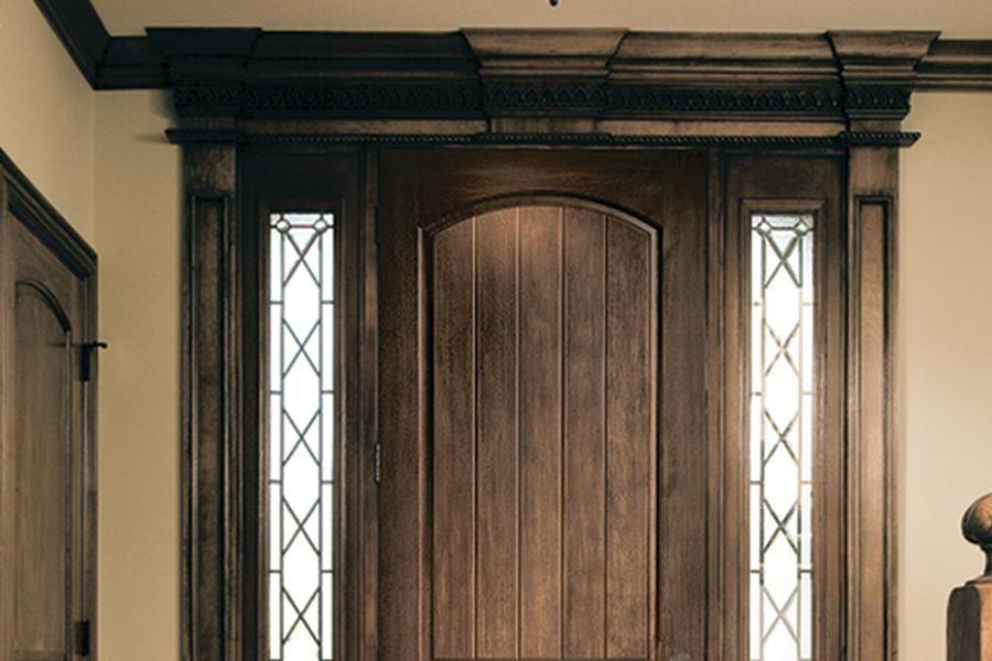 Wood Look Fiberglass Entry Door Jlc Online