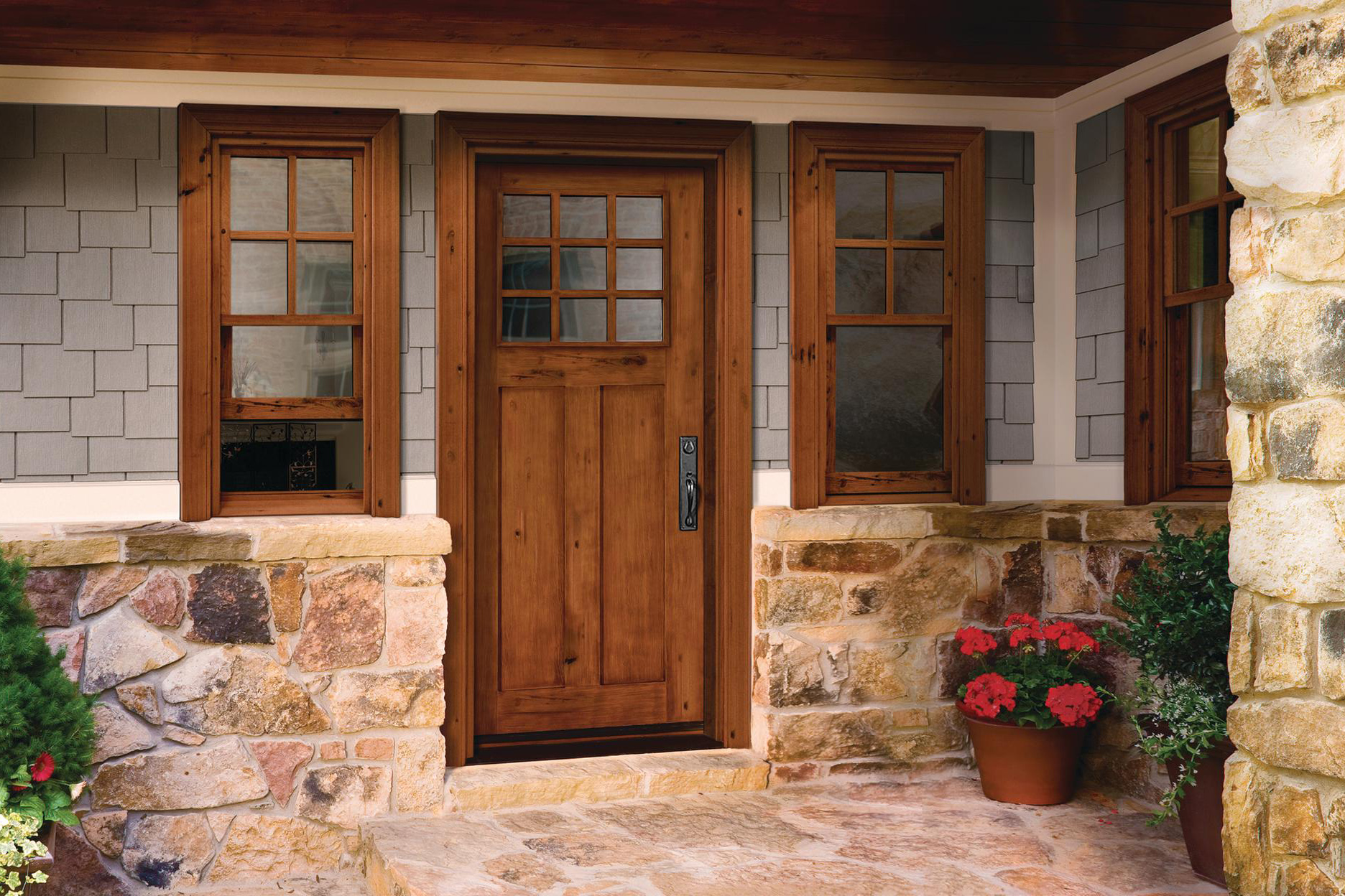 Reclaimed Rustic Jeld Wen Reclaimed Wood Windows And