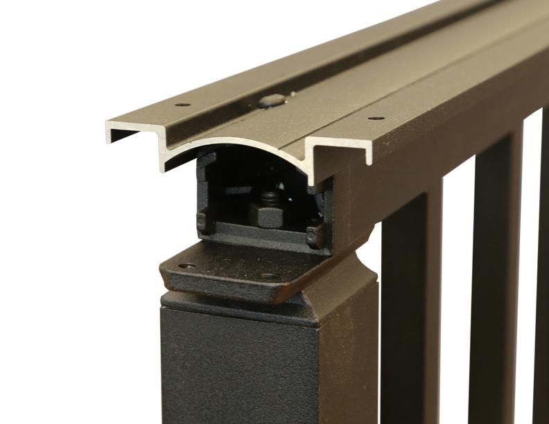 Westbury Aluminum Drink Rail ProSales Online Decking