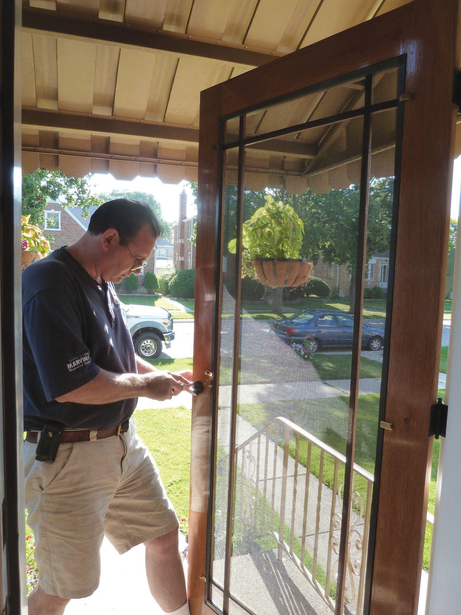 Building A Wooden Screen Door Jlc Online Doors