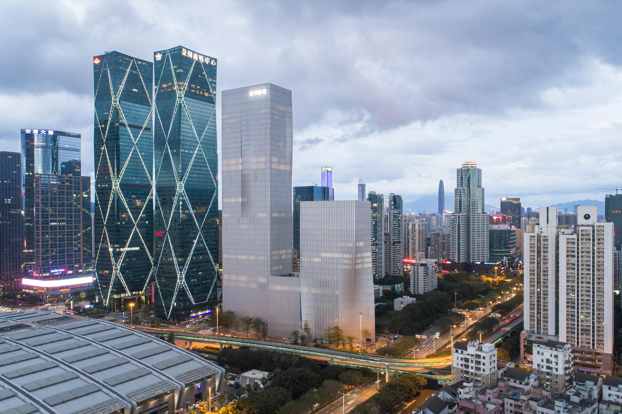 Shenzhen Energy Mansion Architect Magazine Bjarke