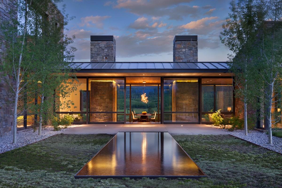 Crescent H Residence Architect Magazine Carney Logan