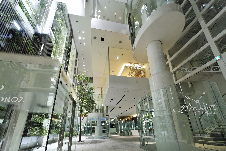 Nicolas G Hayek Center Architect Magazine Shigeru Ban