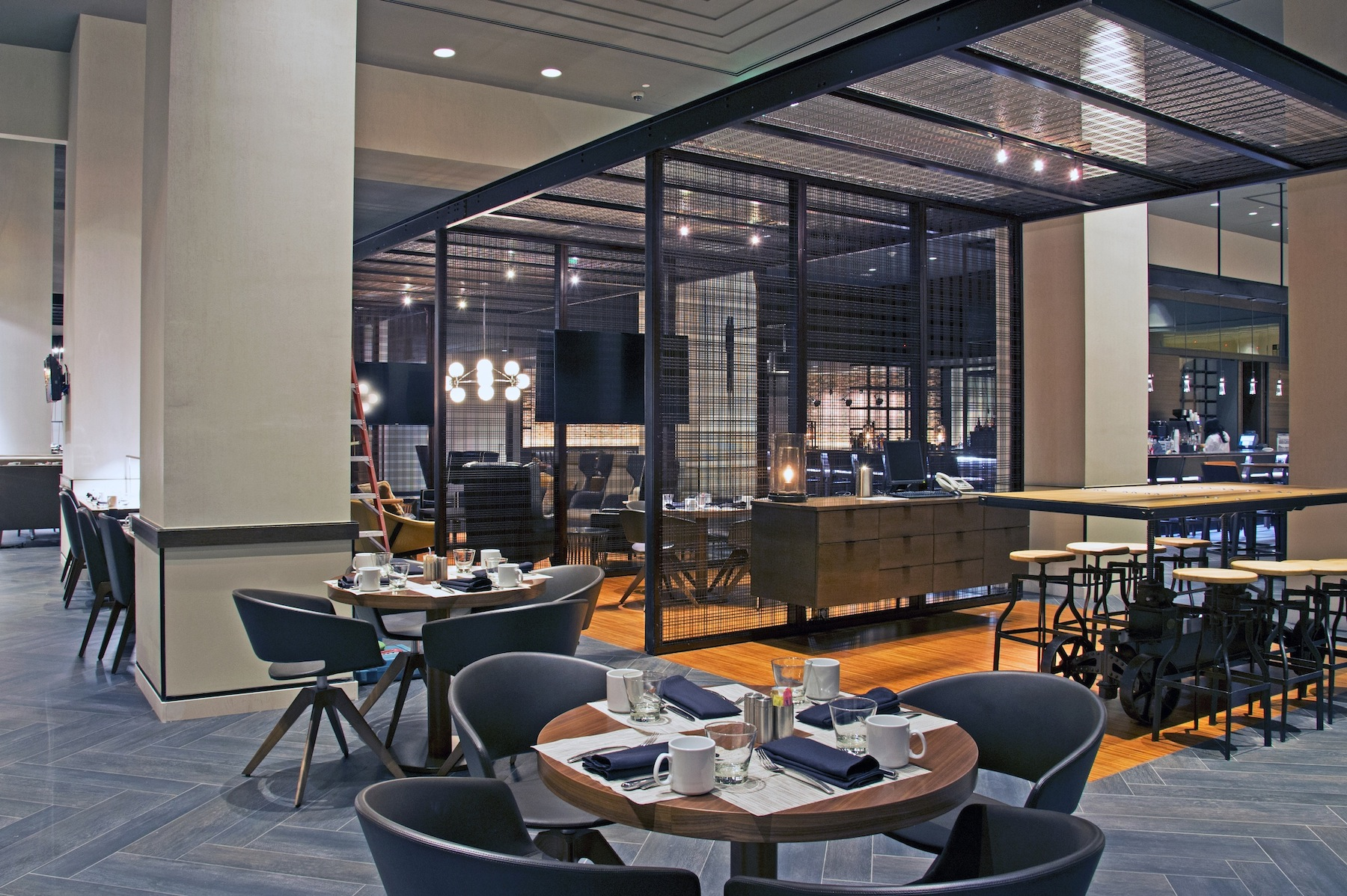 Marriott Waterfront Reinvents Restaurant And Lounge With