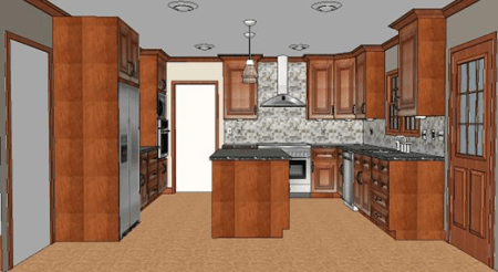 Cost vs  Value Project  Major Kitchen Remodel   Upscale   Remodeling Upscale Major Kitchen Remodel  After
