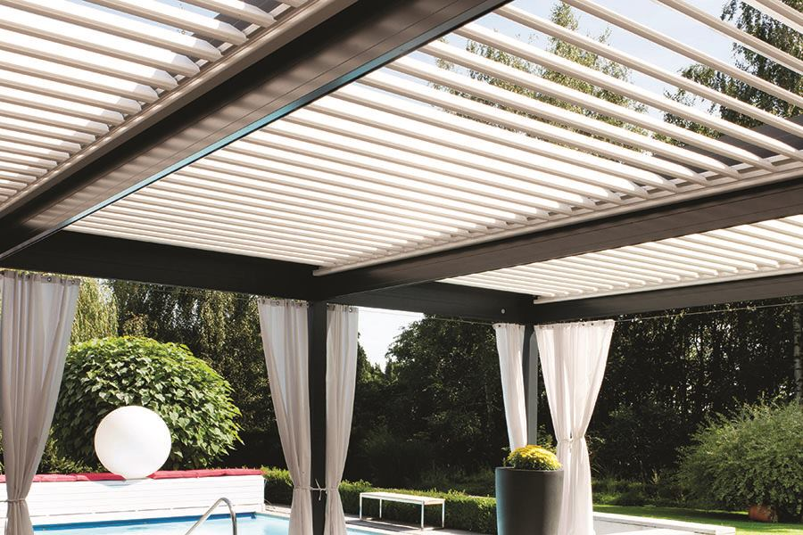 Bioclimatic Aluminum Pergola Professional Deck Builder