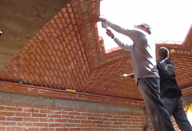 building a brick vaulted ceiling wwwenergywardennet
