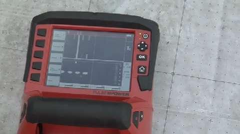 Hilti PS 1000 X Scan Ground Penetrating Radar System JLC