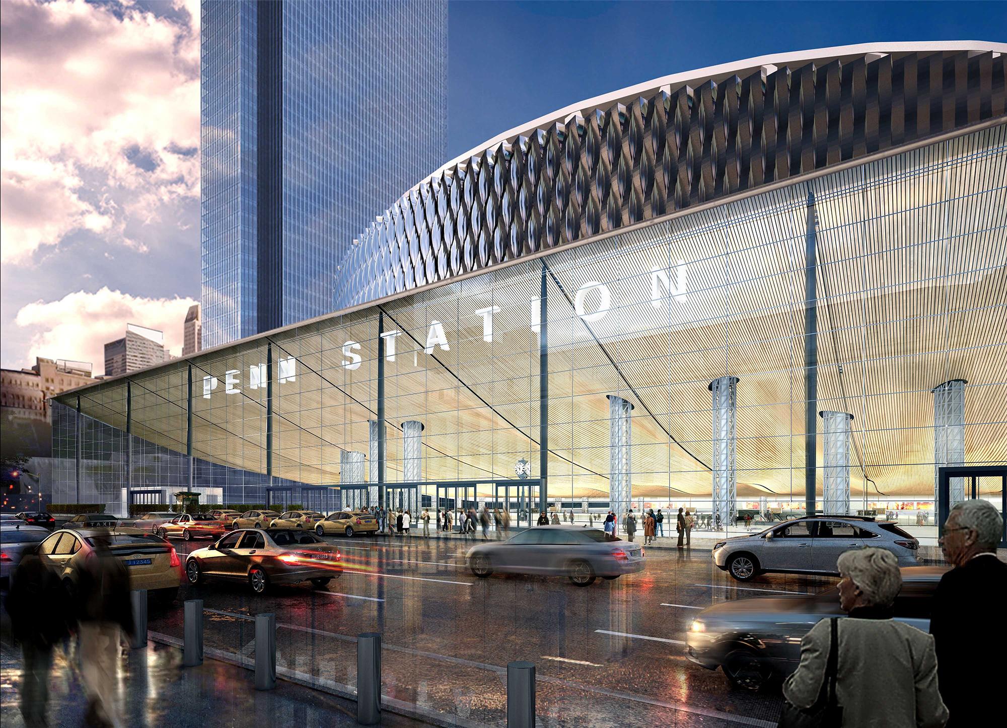 New York Governor Reveals Penn Station Renovation Plans