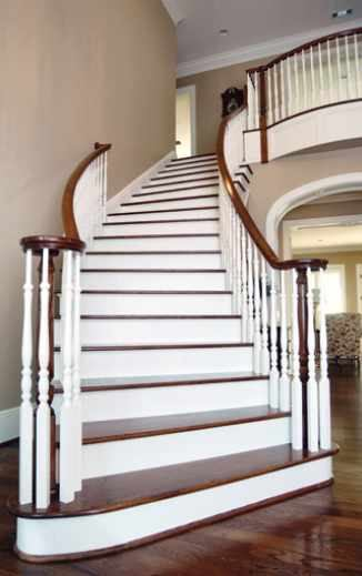 Building A Curved Stairway Jlc Online Staircases
