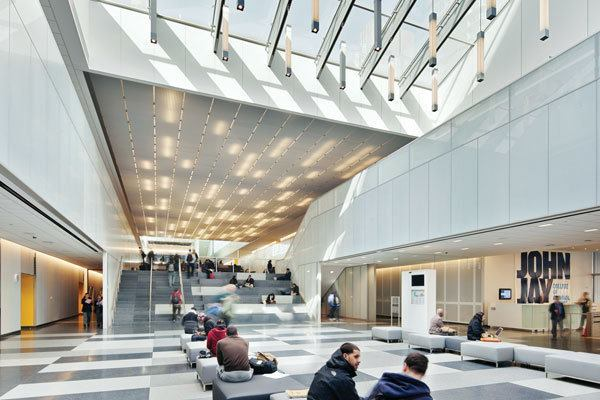 John Jay College Of Criminal Justice Architectural Lighting Magazine Education Projects