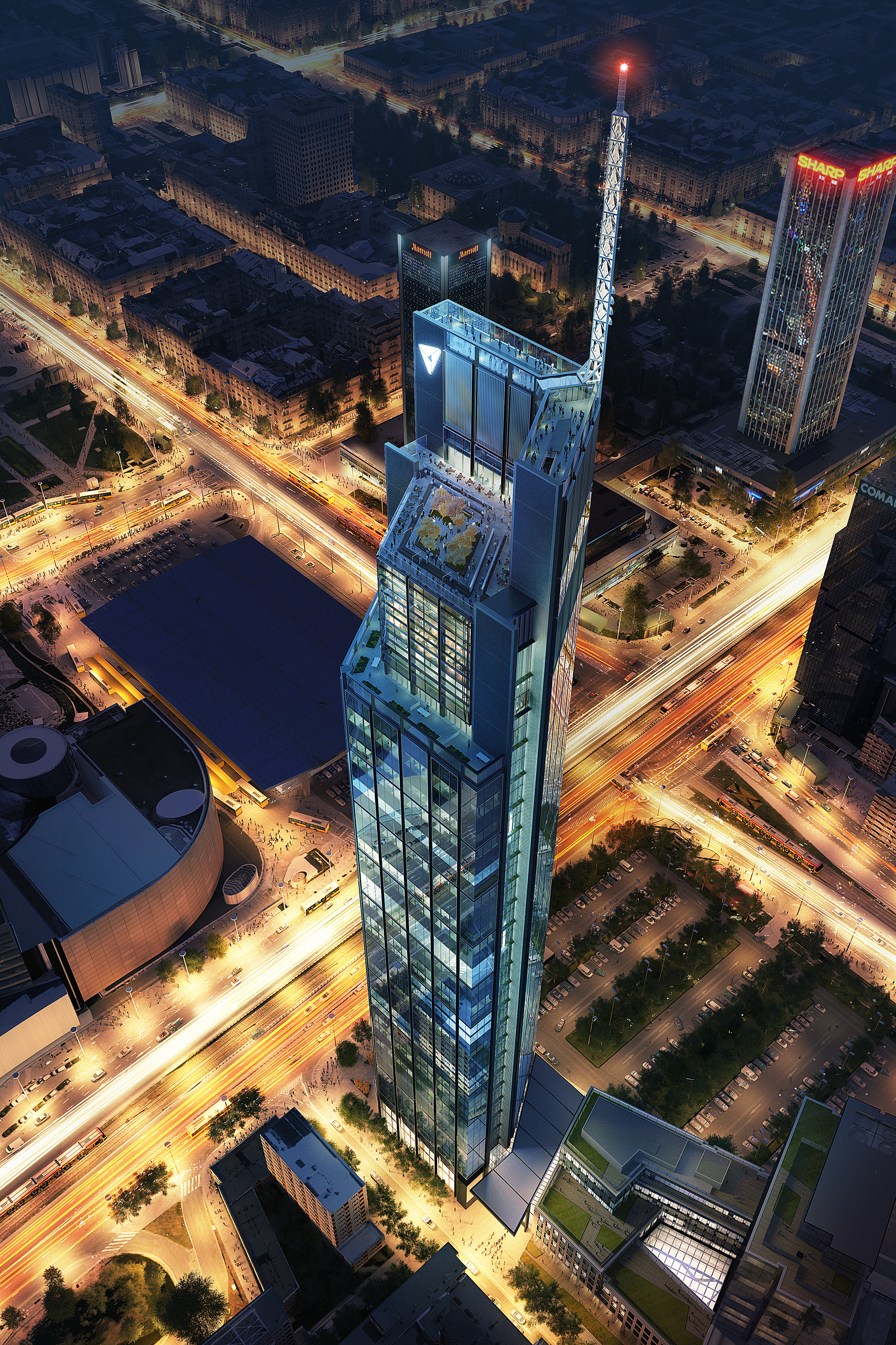 Foster Partners Begin Constructing The Varso Tower
