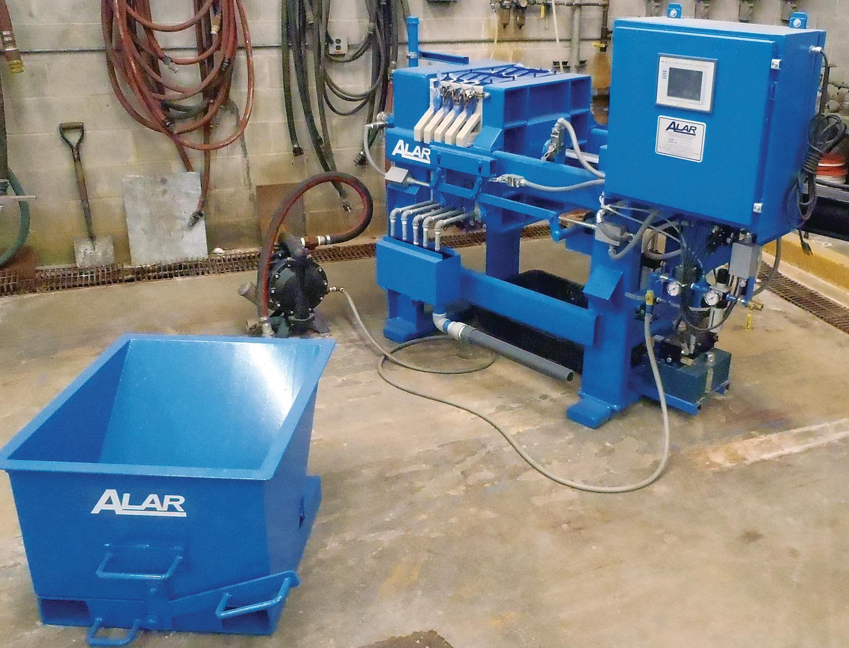 Alar Water Recycling Systems Slurry Klean Concrete