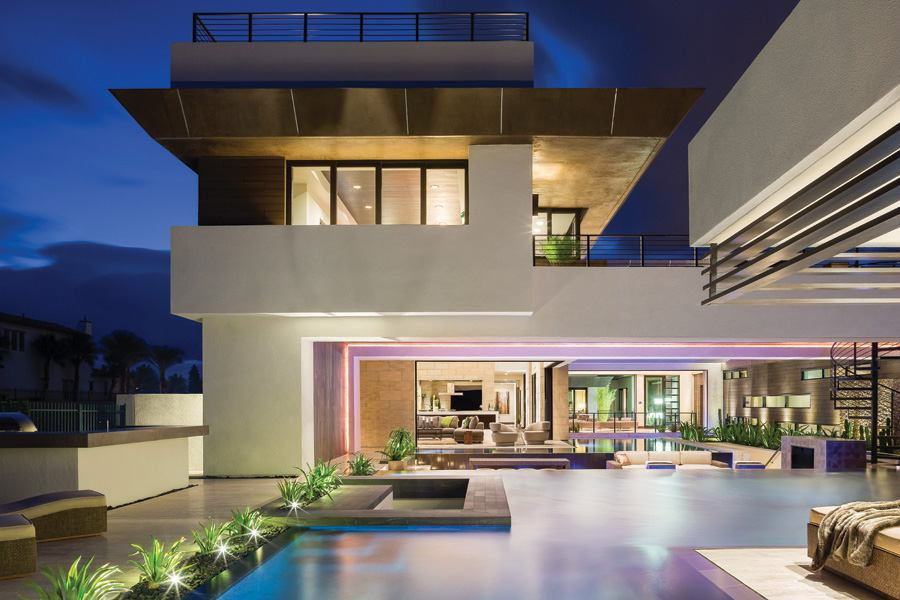 Remaking The Modern Design Mold Builder Magazine Custom Homes Design Las Vegas Paradise