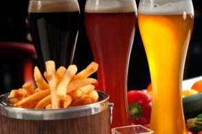 Cerveza y picoteo