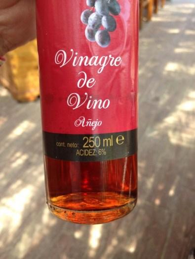 Vinagre acidez