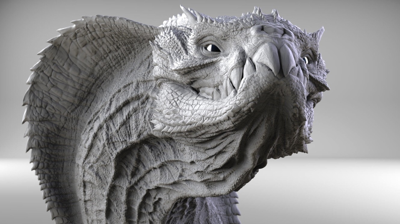 Artstation Cobra Dragon Wip Kurtis Dawe