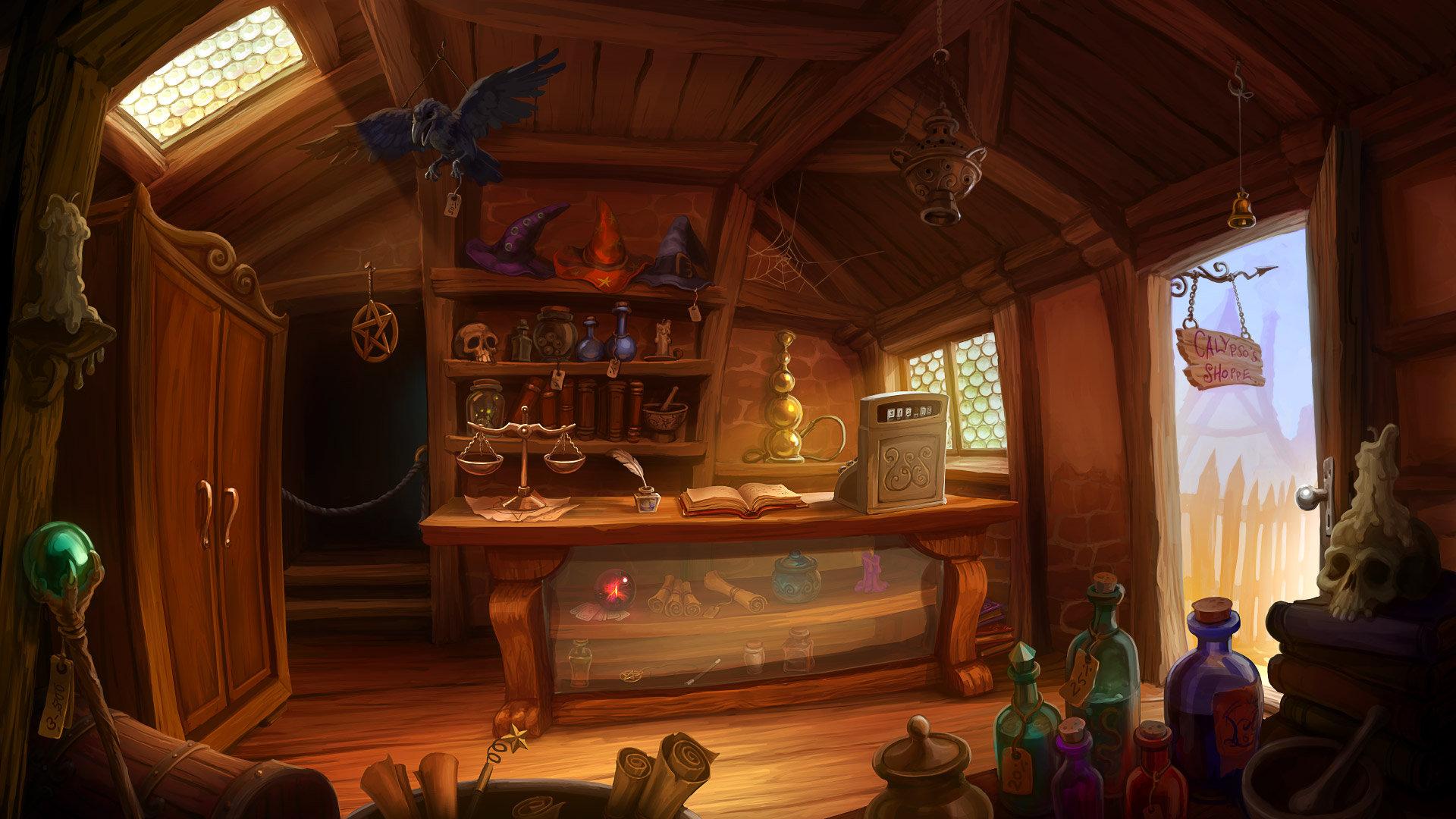 ArtStation Magic Shop Wiebke Scholz