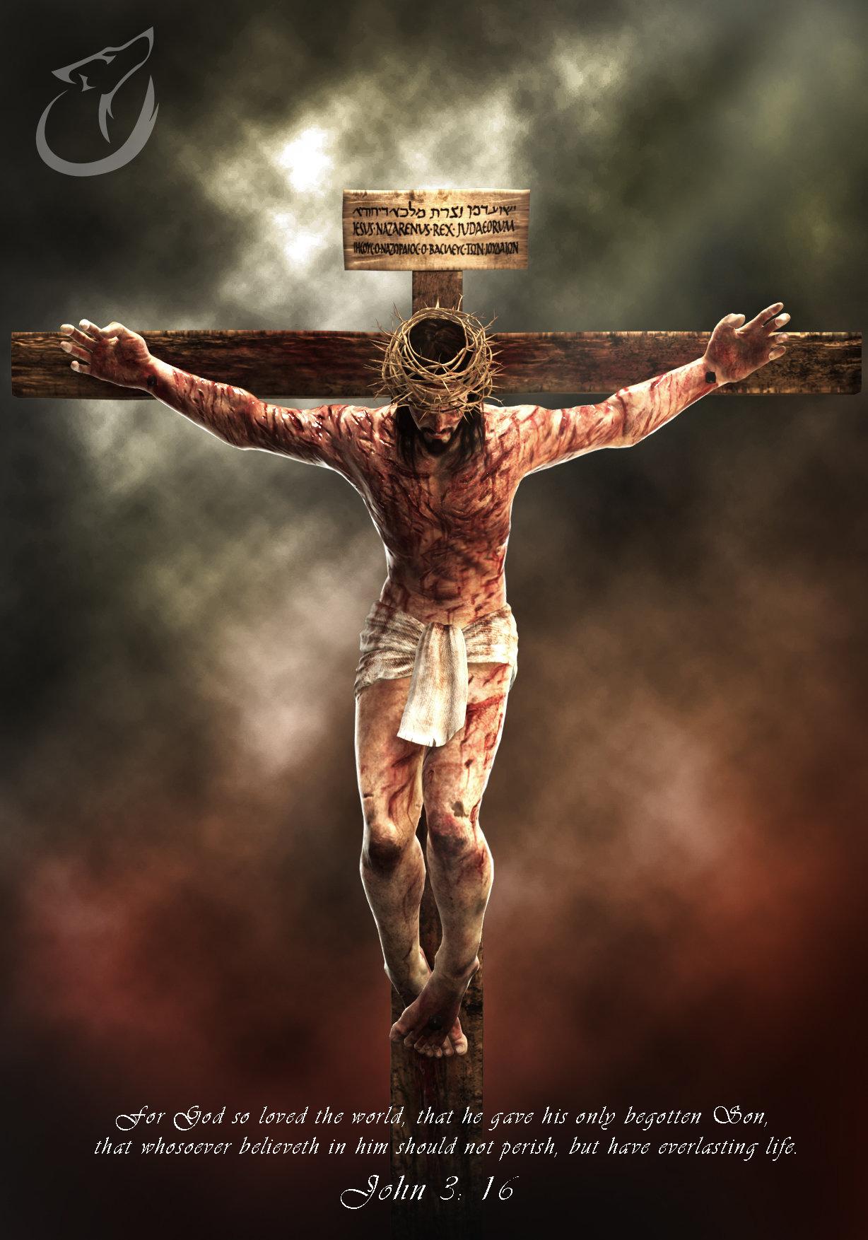 Artstation Jesus On The Cross Andrew Constantine