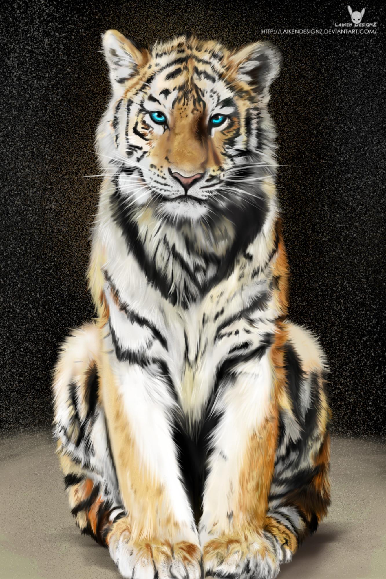 artstation - tiger art, laiken designz