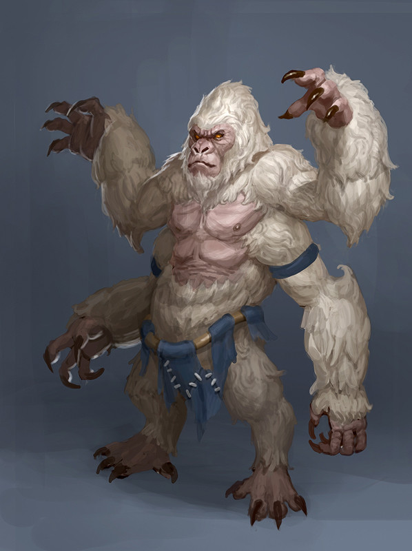 Artstation Gorilla Monster Matthew Park
