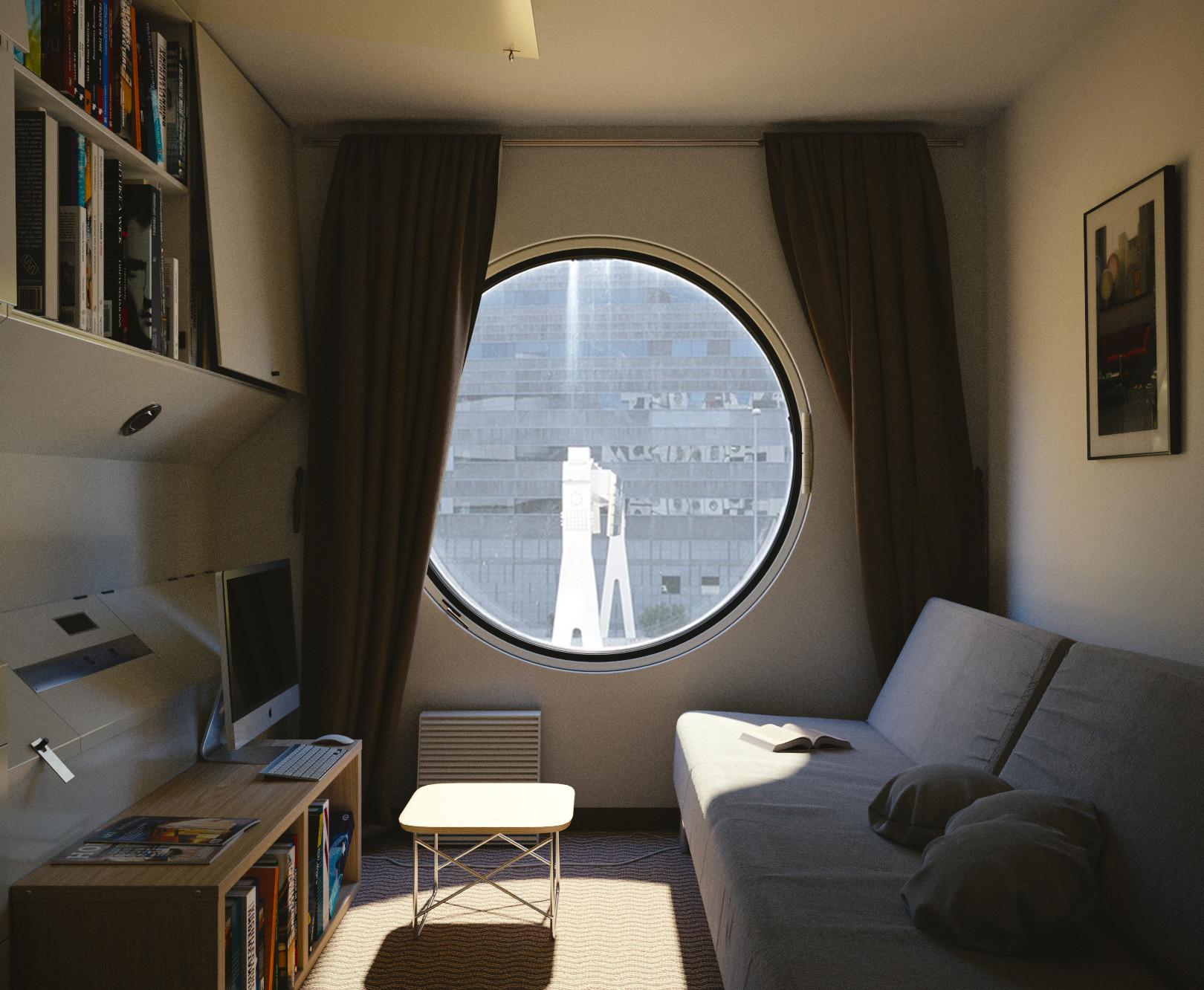 Artstation Japanese Apartment In Tokyo Daniel Webb