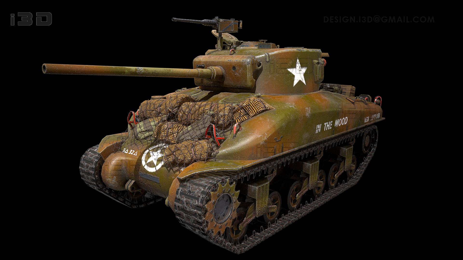 Igor Zaikov Sherman M4A176 WarDaddy
