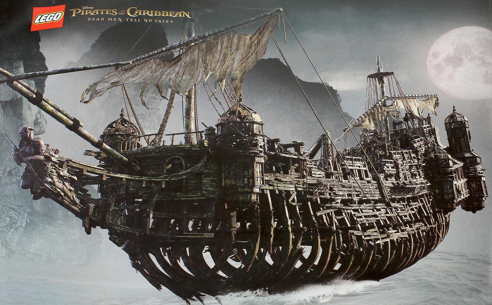 Andrew Hodgson Pirates Of The Caribbean Dead Men Tell