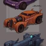 Artstation Steampunk Vehicle Concept Fabrice Magdanz