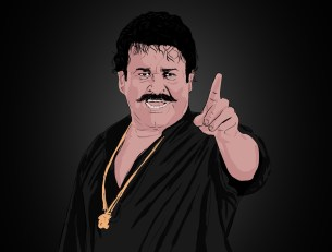 ArtStation - commissioned illustrations for MOHANLAL malayalam ...