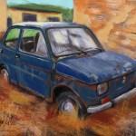 Artstation Little Fiat 126 P Grzegorz Wojcik